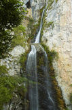 Waterfall. Vanatarea Ponorului waterfall in Apuseni Mountains, Romania Royalty Free Stock Photography