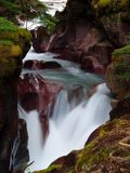Waterfall 6. This image of the small stream taken at slow shutter speed was shot in western MT Royalty Free Stock Images