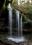 Waterfall. Image of waterfall , wild forest royalty free stock images