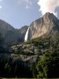 Waterfall. Huge waterfall at Yosemite national park royalty free stock photos