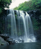 Famous Chunjeyun Falls Royalty Free Stock Photography