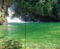 Waterfall. In Itatiaia, Rio de janeiro, Brazil royalty free stock photo
