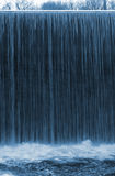 Waterfall. Image of a waterfall. blue feeling for freshness Stock Photo