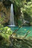 Waterfall. In the Plitvice National Park UNESCO World Heritage, Croatia Stock Image