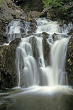 Waterfall. A rurshing waterfall in Truro, Nova Scotia, Canada stock images