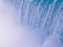 Waterfall. View of falling water at Niagara Falls royalty free stock photo