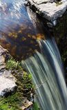 Waterfall. Small waterfall Royalty Free Stock Images