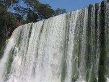 Waterfall. Iguassu falls, Argentine, Brazil stock images