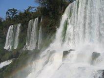 Waterfall. Iguassu falls Argentine Brazil Royalty Free Stock Photos