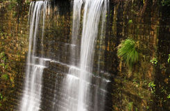 Waterfall. In may 2008 in China Lushan scissors canyon scenic stock photography