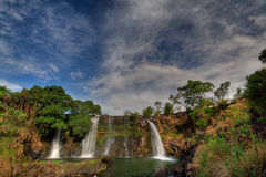 Waterfall. Chute de la Lily , Madagascar Royalty Free Stock Photography