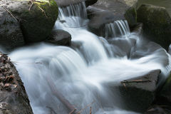 Waterfall. A moorland waterfall Stock Photography