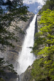 Waterfall. In Yosemite National Park Stock Photo
