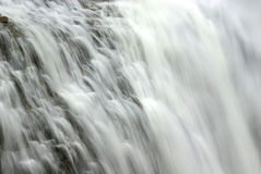 Waterfall abstract Royalty Free Stock Image