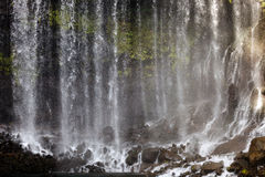 Waterfall abstract Stock Images