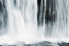 Waterfall Abstract Royalty Free Stock Photo