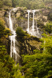 Waterfall Acqua Fraggia Italy. Waterfall Acqua Fraggia  from the town of Borgonuovo in north Italy Royalty Free Stock Photo