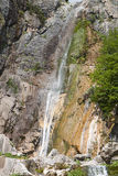 Waterfall of Agnanta in Greece Royalty Free Stock Photos