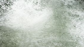 Waterfall of air bubbles stock video footage