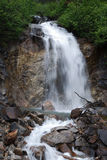 Waterfall in Alaska Stock Image