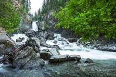 Waterfall on Alaska Royalty Free Stock Image