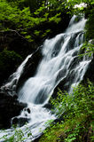 Waterfall (Allemont) royalty free stock photo