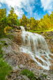 Waterfall allgau royalty free stock images