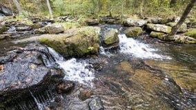 Waterfall along Collins Creek in Herber Springs Arkansas royalty free stock image