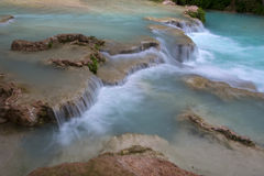 Waterfall along Havasu Stock Image