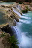 Waterfall along Havasu Creek Stock Images