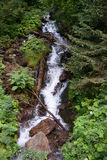 Waterfall in Alps Royalty Free Stock Images