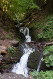 Waterfall in Alps Stock Photos