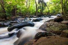 Free Waterfall And Water Flowing Through Rocks Royalty Free Stock Image - 102135866