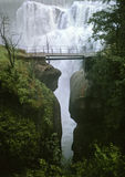 Waterfall Andermatt Stock Photography