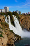 Waterfall in Antalya Royalty Free Stock Photography