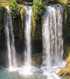 Waterfall in Antalya Royalty Free Stock Image