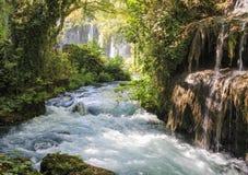 Waterfall in Antalya Royalty Free Stock Photos