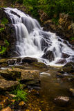 Waterfall on Antietam Creek near Reading, Pennsylvania. Royalty Free Stock Photo