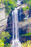 Waterfall in Appalachian mountains Stock Photography
