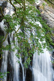 Waterfall in the area of Mourne Mountains Stock Photo