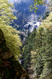 Waterfall of Ars in the Pyrenees in France Royalty Free Stock Images