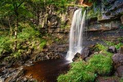 Waterfall at Ashgill Royalty Free Stock Image