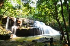 The waterfall in asia Stock Photography