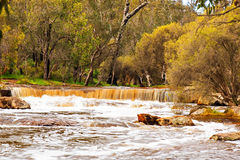 Waterfall in Australia Royalty Free Stock Photos