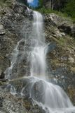 A waterfall in Austria Stock Images