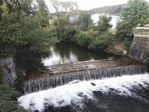 Waterfall Austria Berndorf Stock Images