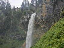 Waterfall. In Austria at a hiking tour Stock Images