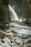 Waterfall in Austria Stock Images
