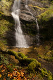 Waterfall in autumn. A waterfall in autumn Royalty Free Stock Photo
