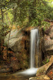Waterfall in the autumn-4 Stock Photo